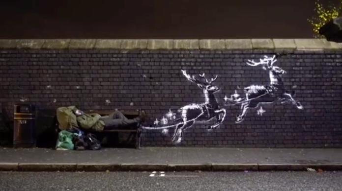 Il Clochard: un dono di Banksy