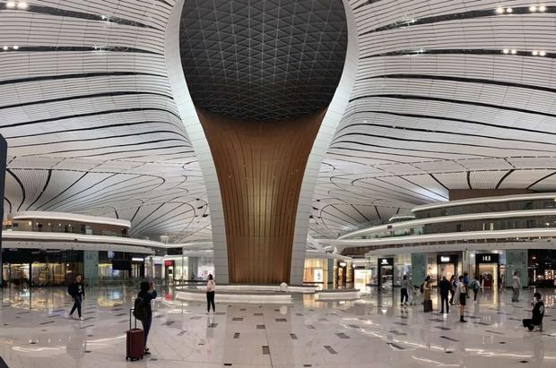 Un aeroporto cattedrale