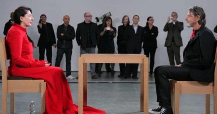 Marina Abramovič e la contemplazione